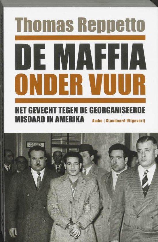 Cover van het boek 'De maffia onder vuur' van Thomas Reppetto