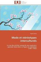 Mode Et St�r�otypes Interculturels