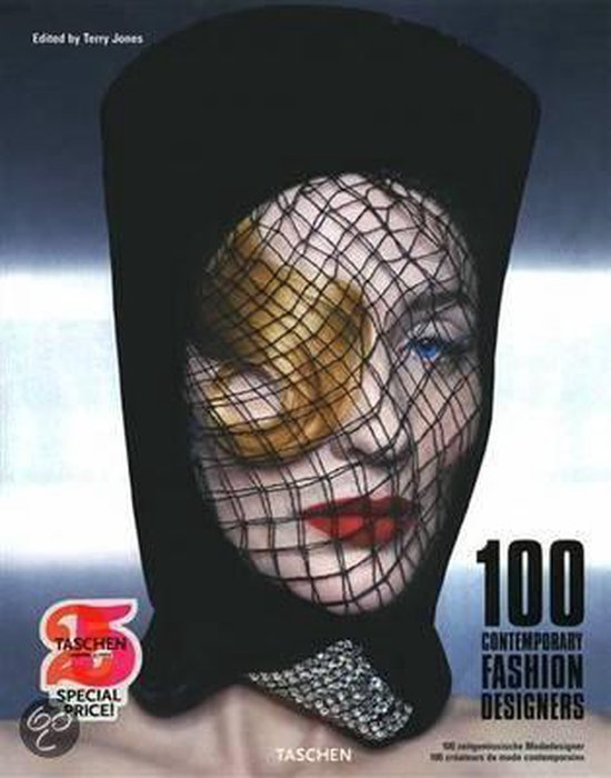Cover van het boek '100 Contemporary Fashion Designers' van Terry Jones