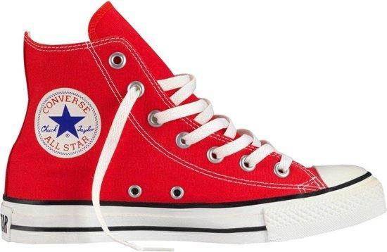 bol.com | Converse Chuck Taylor All Star Hi Sneakers Rood ...