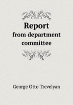 Report from Department Committee