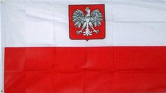 Vlag Polen 90 x 150 cm