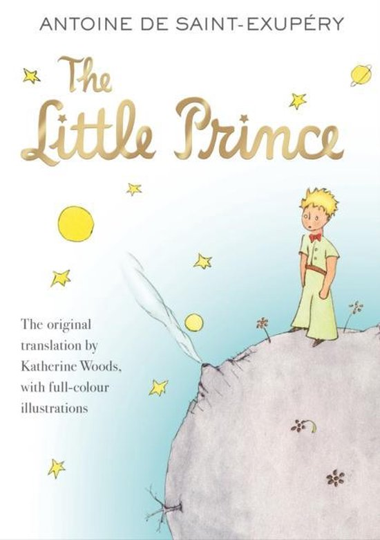 Boek cover The Little Prince van Antoine de Saint-Exupéry (Paperback)