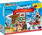 PLAYMOBIL Adventskalender Kerstatelier met elfen  - 9264