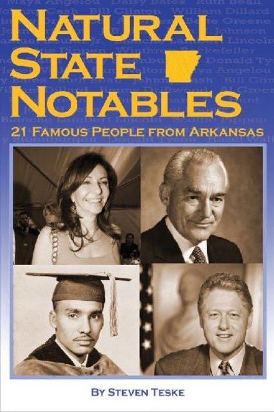 Boek cover Natural State Notables van Steven Teske (Paperback)