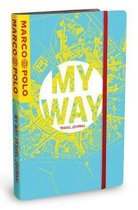 MY WAY Travel Journal (City Map Cover)