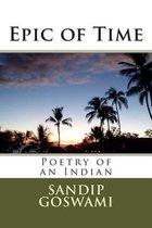 Boek cover Epic of Time van Sandip Goswami