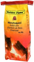 Golden Flame - Houtskool - 8 liter