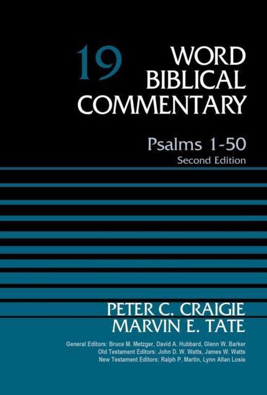 Boek cover Psalms 1-50, Volume 19 van Peter C. Craigie (Hardcover)