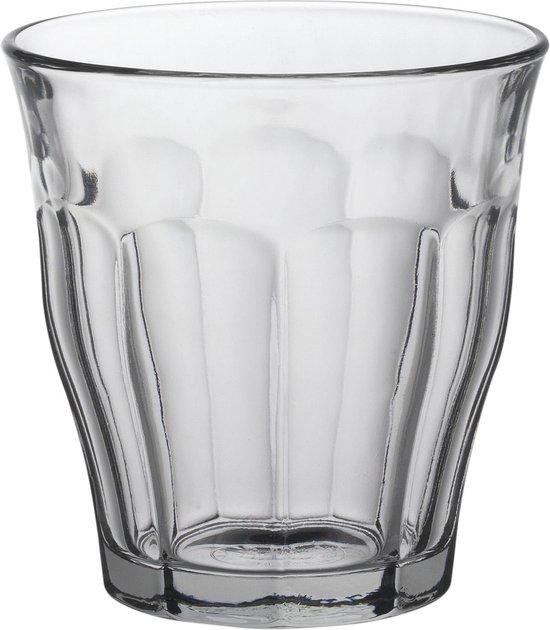 Duralex Picardie Waterglas 9 cl - Gehard glas - 6 stuks