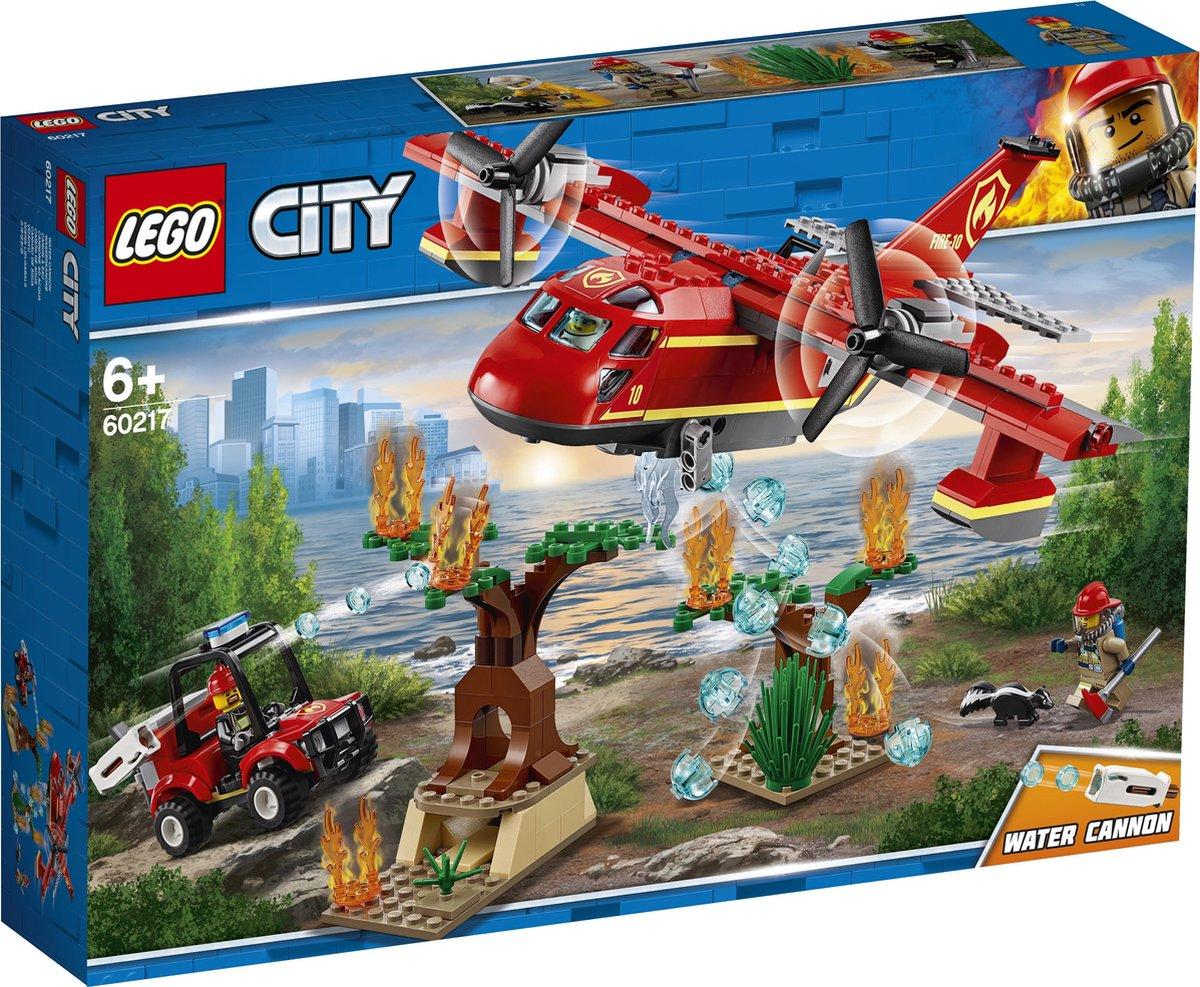 LEGO City Brandweervliegtuig - 60217