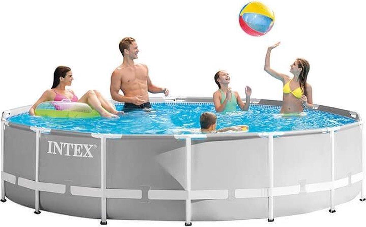 Intex Prism Frame zwembad 457 x 107 cm