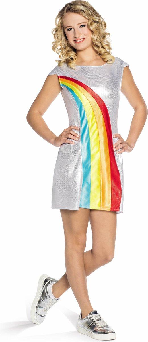 K3 Verkleedjurk Regenboog Volwassenen Maat 38-40