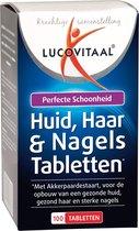 Lucovitaal Huid, Haar & Nagels Voedingssupplement - 100 Tabletten