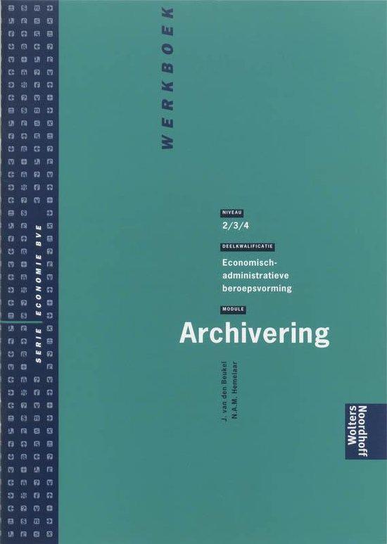 Archivering Werkboek - J. van de Beukel | Readingchampions.org.uk