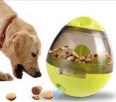 Hondenbal - Speelgoed - trainingsbal - voedings dispenser - intelligentie bal voor honden - Groen - speelbal - Speelbal om te leren- bal met snoepjes