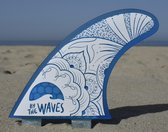 "By the Waves ""The design"" FCS compatibel surf vinnen"