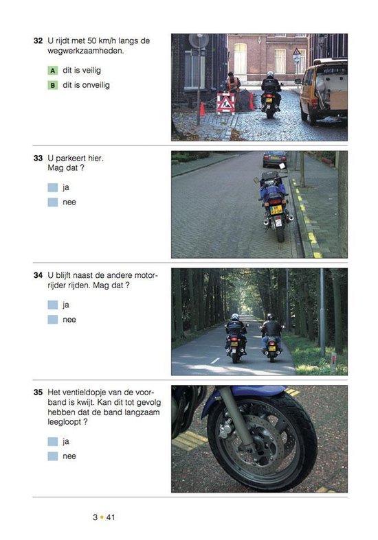 Examentraining Motorfiets rijbewijs A 16e druk