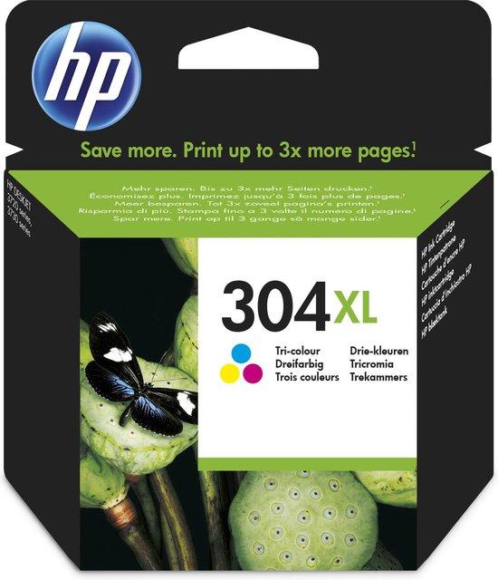 HP 304XL - Inktcartridge / Kleur / Hoge capaciteit (N9K07AE)