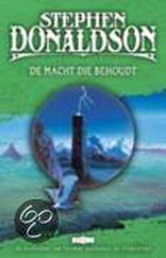 Cover van het boek 'De macht die behoudt' van Stephen Donaldson