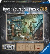 Ravensburger puzzel escape 8 Forbidden Basement - 759 stukjes