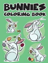 Bunnies Rabbit Easy Coloring Book for Kids Toddler, Imagination Learning in School and Home