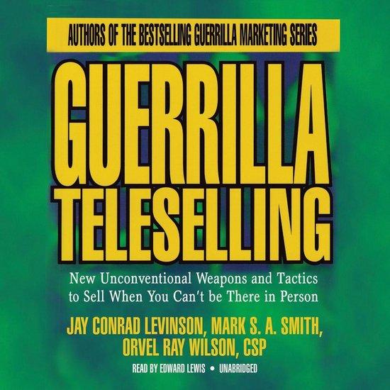 Boek cover Guerrilla Teleselling van Orvel Ray Wilson (Onbekend)