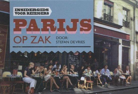 Parijs op zak - dwarsligger (compact formaat) - Stefan de Vries |