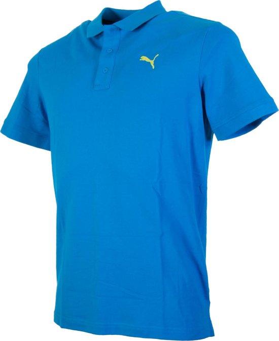 | Puma Poloshirt Maat M Mannen blauw