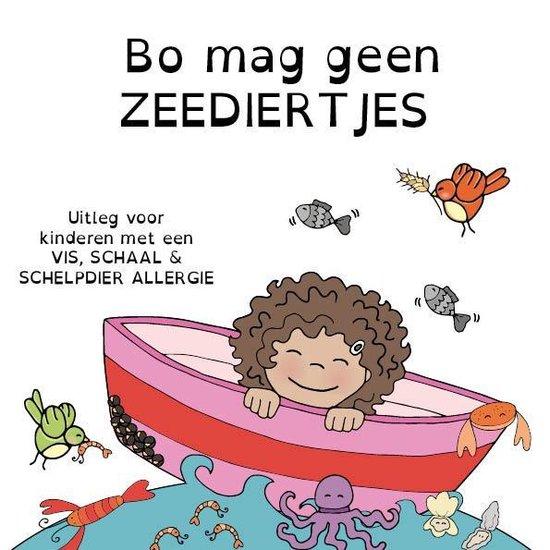 Bo mag geen zeediertjes - uitleg voor kinderen met een vis, schaal- en schelpdier allergie