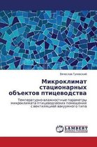 Mikroklimat Statsionarnykh Obektov Ptitsevodstva