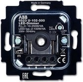 ABB Busch-Jaeger 6523U-102-500 LED Dimmer - 230V - fase aansnijding - 2W-100W