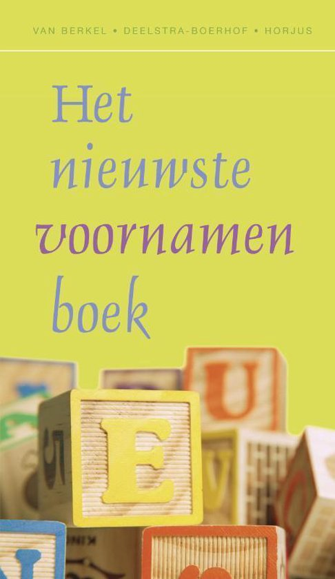 Het nieuwste voornamenboek - G. van Berkel |
