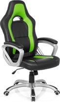 hjh office Gaming Zone Pro AB100 -  Bureaustoel - Kunstleder - Zwart / groen