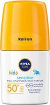 NIVEA SUN Kids Sensitive Roll-On Zonnebrand SPF 50+ - 50 ml