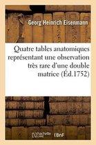 Quatre Tables Anatomiques Repr sentant Une Observation Tr s Rare d'Une Double Matrice,