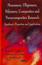 Monomers, Oligomers, Polymers, Composites & Nanocomposites Research