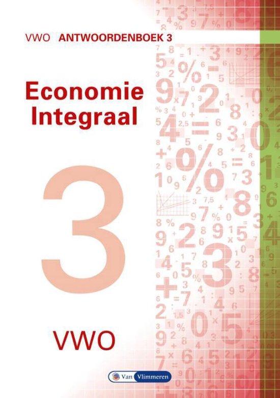 Economie Integraal vwo Antwoordenboek 3 - Ton Bielderman  
