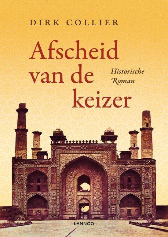 Cover van het boek 'Afscheid van de keizer'