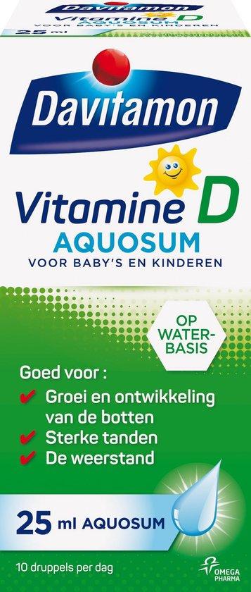 Davitamon vitamine D Aquosum - vitamine - kinderen
