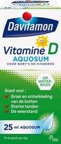 Davitamon vitamine D Aquosum - vitamine - kinderen - 25 ml