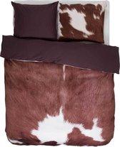 Essenza Cow Dekbedovertrek - Eenpersoons - 140x200/220 cm - Brown