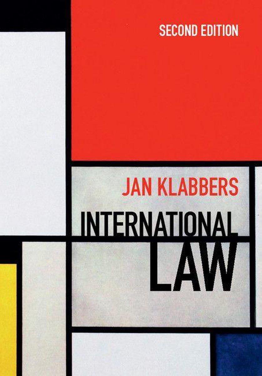 International Law 2nd Edition - Jan Klabbers