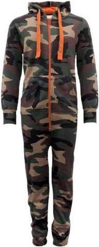 Camouflage Onesie Kind maat 152 – onesie kinderen – onesie jongens - onesie meisjes – Huispak