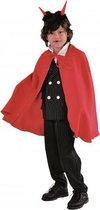 Halloween - Dracula cape kinderen rood