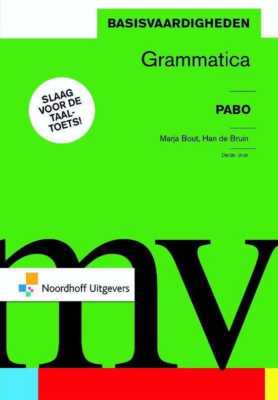 Basisvaardigheden grammatica - Marja Bout pdf epub