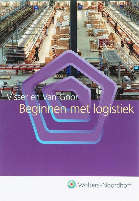 Boek cover Beginnen met logistiek van H.M. Visser (Hardcover)