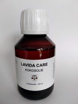 Kokosolie (gefractioneerd) - huidolie - 100 ml - voor een schrale, ruwe huid