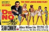Wandbord - James Bond - Dr. No - 20 x 30 cm