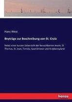 Beytrage zur Beschreibung von St. Croix
